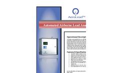 AeroLead - 2000 - Fixed-Mount Airborne Metals Analyzer Brochure