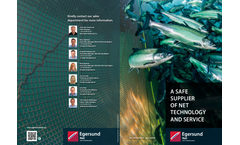 Egersund - Coating and Antifouling Nets Treatment Services Brochure