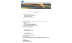 Air Pollution Control, Dispersion Calculations Services Brochure