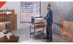 Verpackungspolstermaschinen HSM ProfiPack C400 / P425   Packaging machines HSM ProfiPack C400 / P425