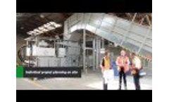 Baling Press HSM VK12018 Video