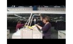 Baling Press HSM V-Press 60 Trailer Video