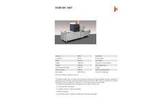 HSM Model AK 807 Channel Baling Presses - Datasheet