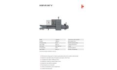 HSM - Model VK 807 V - Channel Baling Presses - Datasheet