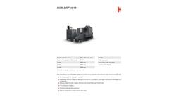 HSM BRP 4810 Briquetting Press - Datasheet