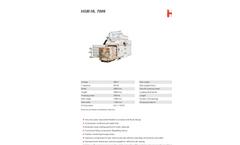 HSM - Model HL 7009 - Horizontal Baling Press - Datasheet