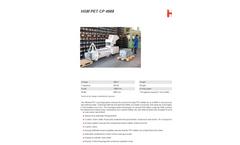 HSM PET - Model CP 4988 - Crusher Press Combination - Datasheet