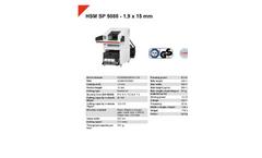 HSM Powerline - Model SP 5088 - 1.9 x 15mm - Shredder Baler Combination - Datasheet