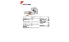 HSM HL 4809 Horizontal Baling Presses - Datasheet