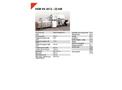 HSM VK 4012 - 22 kW Compacting Channel Baling Presses - Datasheet