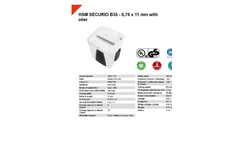HSM Securio - Model B35 - 0.78 x 11mm - Document Shredder - Datasheet