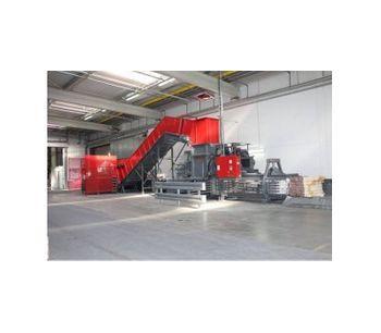 HSM - Model VK 5512 - Channel Baling Presses / Channel Balers