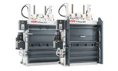 HSM - Model V-Press 825 Plus - Vertical Baling Press