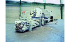 HSM - Model VK 4812 - 22 kW Compacting Channel Baling Presses