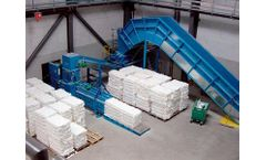 HSM - Model VK 3008 - 15 kW Compacting Channel Baling Presses