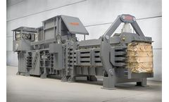 HSM - Model VK 15020 - 55+55 kW Frequency-Controlled Compacting Channel Baling Presses
