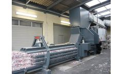 HSM - Model VK - 6015 - 55 kW Frequency-Controlled Compacting Channel Baling Presses