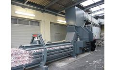HSM - Model VK 6015 - 75 kW Compacting Channel Baling Presses