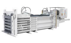 HSM - Model HL 3521 T - Horizontal Baling Press