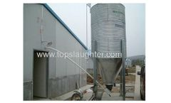 Model JD - Automated Poultry Feed Silo