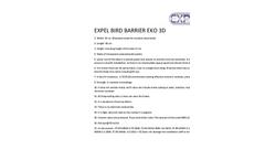 Expel EKO 3D Bird Barrier Brochure
