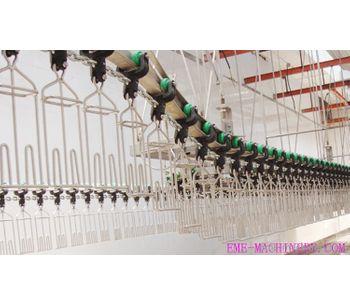 Qingdao - Model QE-BA01 - High Quality Chicken Slaughter Hanging Hooks Butcher Machine