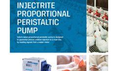 InjectRite - Proportional Peristaltic Pump -  Brochure