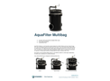 AquaFilter - Multi Bag Filter - Datasheet