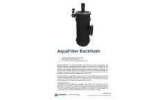AquaFilter - Automatic Backflush Filter - Datasheet