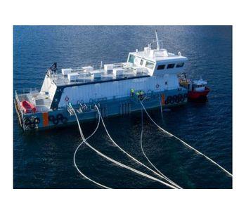 Steinsvik - Model Nova - Aquaculture Feeding Barges