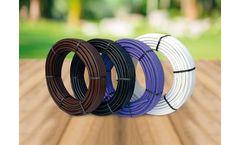 Brico Gold-Drip - Black-coloured Polyethylene Tube