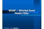 Whirled - Model WSMF-30 - Sand Media Filter Brochure