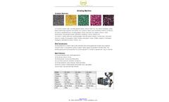Grain, Herbal, Spices Grinding Machine - Datasheet