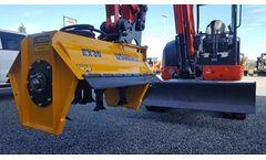US Mower - Model EX30 - Excavator Flail Mower