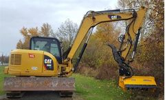 US Mower - Model EX40 - Excavator Flail Brush Mower