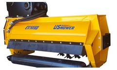 US Mower - Model EX50HD - Excavator Flail Brush Mower