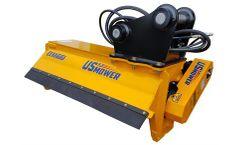 US Mower - Model EX60HDBD - Excavator Flail Brush Mower