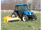 US Mower - Tractor Mounted Shoulder Boom Mowers