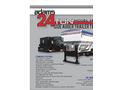 24 Ton 3 Hopper Side Discharge Trailer Tender- Brochure