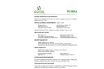 SorbaSolv - Custom Booms, Oil Sorbent MSDS