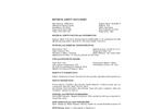 SorbaSet S - Technical Specs - MSDS