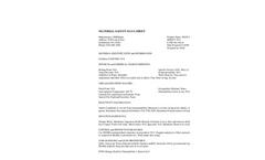 STOP-IT - Absorbent Fiber Technical MSDS