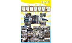 HAF - Model HAF-001 - Filtration, separation, coalescence, purification