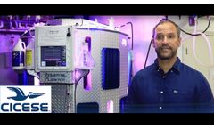 CICESE Algae Bioreactor PBRL 1250 - Video