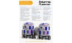 Industrial Plankton - Model PBR 2500L - Dual Algae Photobioreactor - Technical Specifications