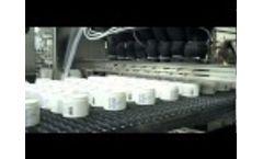 Molten Gravity Liquid Filler for Industrial Bottling Systems Video