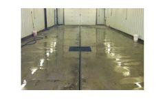 U-Drain Concrete Floor Drainage Solution