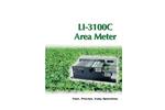 LI-COR - Model LI-3100C - Area Meter - Brochure