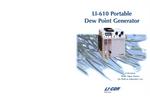 LI-COR - Model LI-610 - Portable Dew Point Generator - Brochure