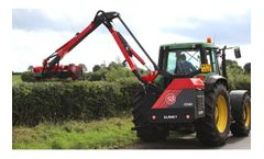 BlaneyAgri - Model Contractor Series - Hedge Cutters - Tractor